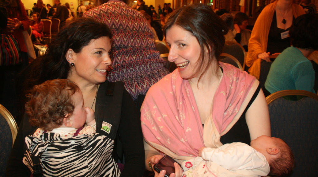 Home Birth Mums at the Annual La Leche League Conference