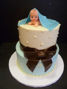 Quilted-baby-shower-cake-for-boy