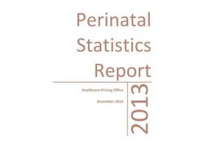 perinatal report 2013